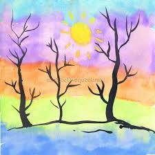 neat kids landscape painting for also kids landscape design ideas easy landscape painting together with kids