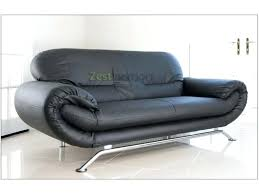 black 2 seater sofas two sofa black faux leather with chrome finish legs black 2 seater