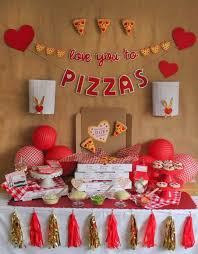 Treat friends to this sweet valentine's day party complete with confectionery robots and a triple layer heart topped cake. Valentine S Day Party Ideas Photo 1 Of 40 Valentines Birthday Party Valentines Party Valentines Day Party
