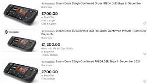 eBay clamps down on Steam Deck scalpers ...