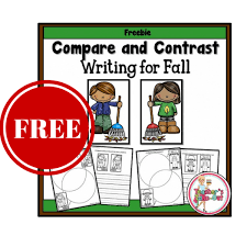 fall compare and contrast writing prompts  fall compare and contrast writing prompts