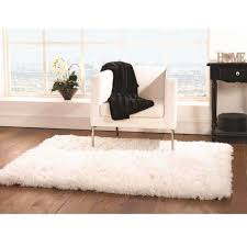 sumptuous white plain gy rug by flair rugs 1