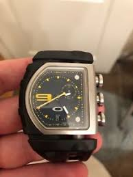 oakley fusebox black and yellow watch ebay oakley fuse box watch for sale image is loading oakley fusebox black and yellow watch