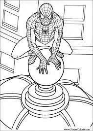 Tekeningen Te Schilderen Kleur Spiderman Print Design 001