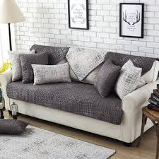 sectional sofa covers. 100% Cotton Nordic Style Sectional Sofa Cover Covers H