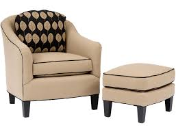 flourish fabric accent chair ottoman  arm and black fascinating cheap chair furniture ideas with ottoman fo