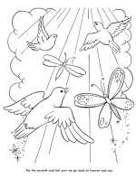 Small Picture The Lords Prayer Coloring Pages Bible Printables