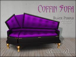 Vintage Furniture Of A Sort Coffin Couches  Apartment TherapyCoffin Couch