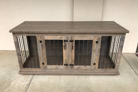 Stunning Ideas Dog Bed Furniture Custom Double Kennel Crate Zoom Diy