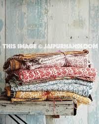 3 pc wholesale Vintage Indian Kantha Quilts sari Reversible Bedspreads & 3 pc wholesale Indian Kantha Quilts vintage Quilt Reversible Kantha  Bedspreads-Jaipur Handloom ... Adamdwight.com