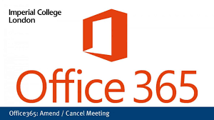 Cancel Office 365 Office365 Amend Cancel A Meeting