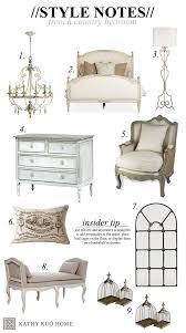 French Country Design Bedroom Style Notes Designing A French Country Bedroom Kathy Kuo