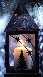 Christmas Candle Snow Android Wallpaper Christmas Candles