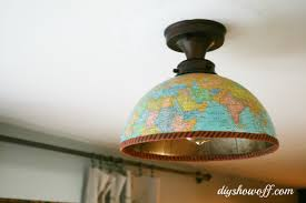 diy globe ceiling light fixture covers the glass on this specific light is very thin and