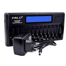 PALO PL NC30 akıllı pil şarj aleti lcd ekran Hızlı akıllı şarj cihazı 12 Pil  Yuvaları 1.2 V Ni MH Ni cd AAA AA Piller|Chargers
