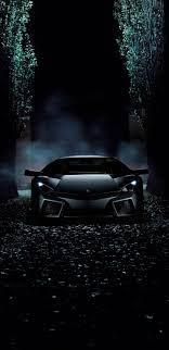 Lamborghini Reventon, black, dark ...