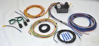 universal wiring harness 12 circuit universal wire harness muscle car hot rod street rod rat rod new