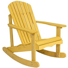 Amazoncom Best Choice Products Outdoor Adirondack Rocking Chair