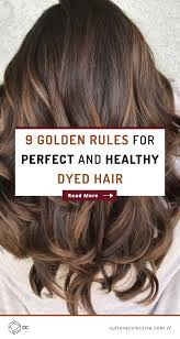 The Golden Rules For Hair Color