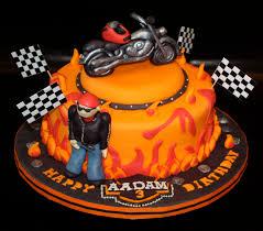 Harley Davidson Cake Decorations Harley Davidson Bike Biker Cake
