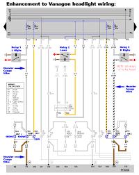 vanagon archives week  >< haywood sullivan com vanagon electrical headlights w relays color gif>