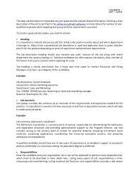 Copywriter Job Description Magnificent Ideal Job Description Kordurmoorddinerco