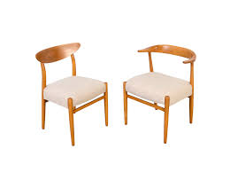 Dining Chair Price 6 Beech Dining Chairs Hans Wegner Style Chairs Well Designed And