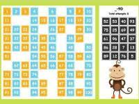 Abcya One Hundred Number Chart Game 7 Best Images Of