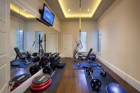 home gym lighting. water front transitional perfection traditionalhomegym home gym lighting s