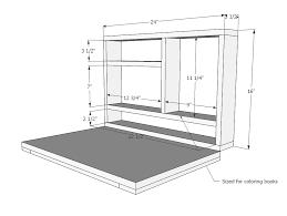 diy wall mounted folding table