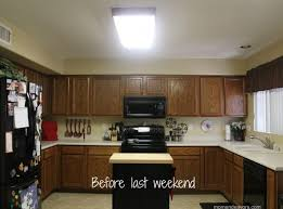 Kitchen soffit lighting Fluorescent How The Spruce How To Build Soffit Box With Recessed Lighting Soffits How To