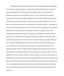Compare And Contrast Essay On Two Friends 16 Best The Meaning Behind A Family And Friends Images Art
