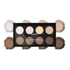 nyx professional makeup highlight contour pro palette matte finish 21 6gm