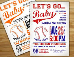 Sports Baby Shower Invitations Sports Baby Shower Invitations By Baby Shower Invitations Sports Theme