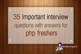 35 important interview questions answers thesoftwareguy