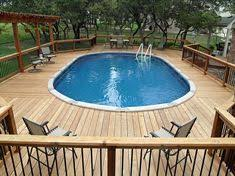 above ground pool with deck.  Above Above Ground Pool Deck U003d Party And Ground Pool With Deck D
