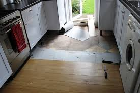 Removing The Existing Laminate Flooring And Underlay