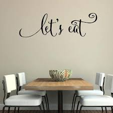 wall es decals wall es decals lets eat kitchen es stickers dining room wall decals vinyl wall es decals
