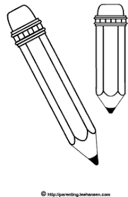 Small Picture School Pencils Coloring Page Free Printables