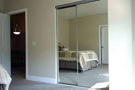 closet mirror sliding doors design