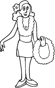 Small Picture Printable Luau Coloring Pages Me Throughout diaetme
