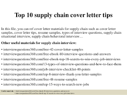 Supply Chain Cover Letter Top 10 Supply Chain Cover Letter Tips 1 638 Jpg Cb 1430528765