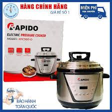 Nồi áp suất điện đa năng Rapido RPC900-D 5L, Hàng chính hãng , BH 12 tháng