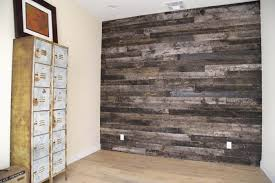 Rustic Wood Wall Paneling Ideas At Locker Room