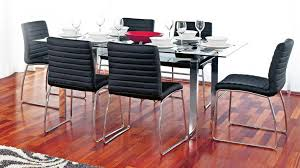 denver glass dining table. denver 7 piece dining suite glass table
