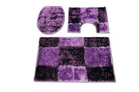 purple bath rugs bathroom rug sets lovely fine black blue green pink 3 piece dark and