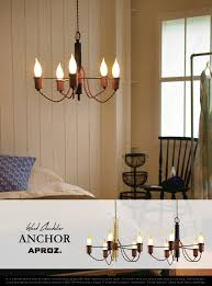 smart chandelier a fresh image of decorative anchor