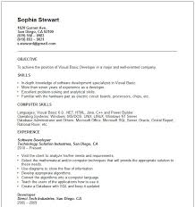 9+ Example Of Simple Job Application Resume | Defaulttricks.com