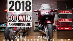 2018 honda goldwing price. wonderful price new 2018 honda gold wing tour review of specs  changes price weight on honda goldwing price