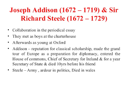 the age of pope  shallow optimism 31 joseph addison